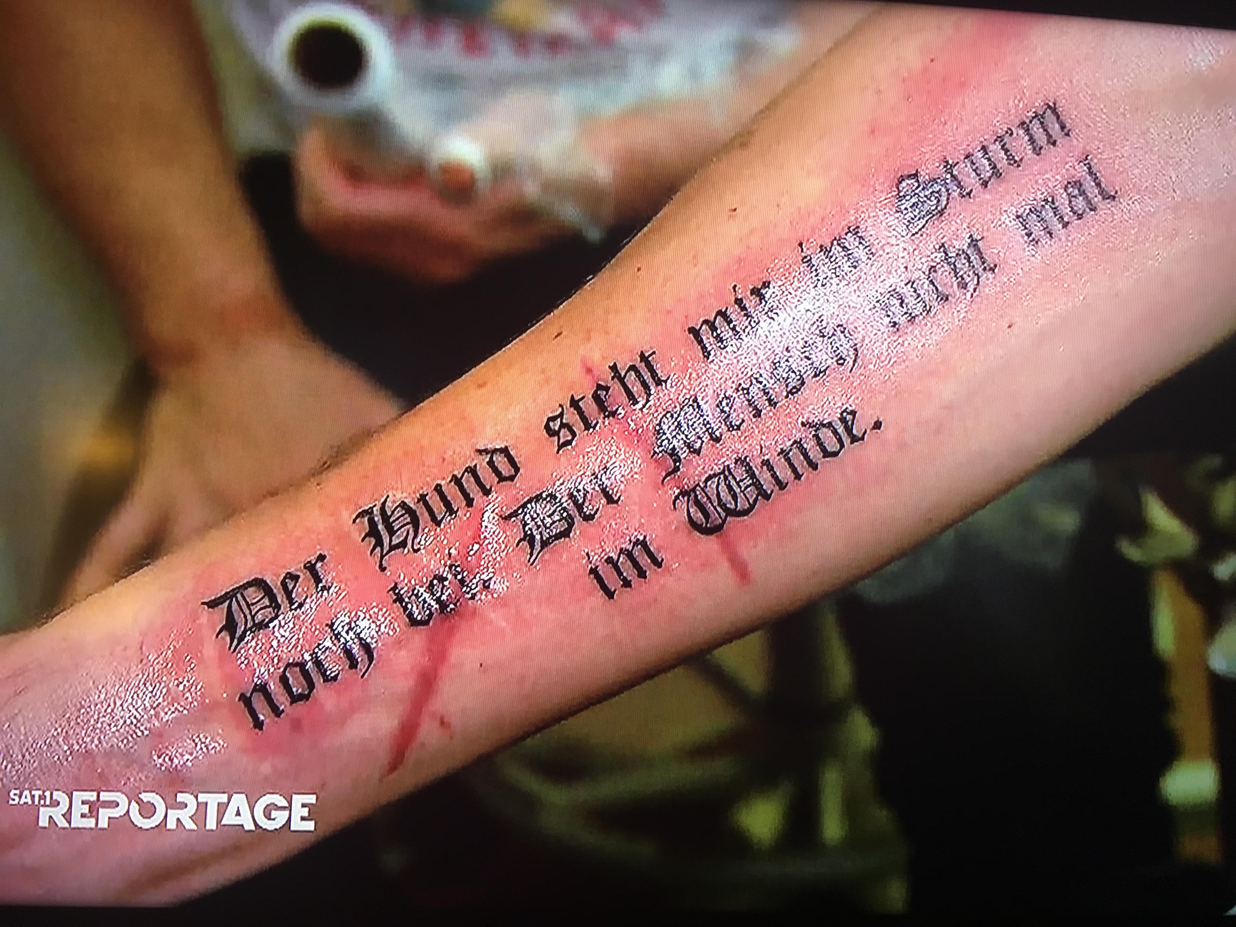 Schade Eigentlich Warum Man Tattoos Nicht Spontan Machen Sollte